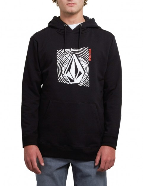 Volcom Supply Stone Pullover Hoody in New Black