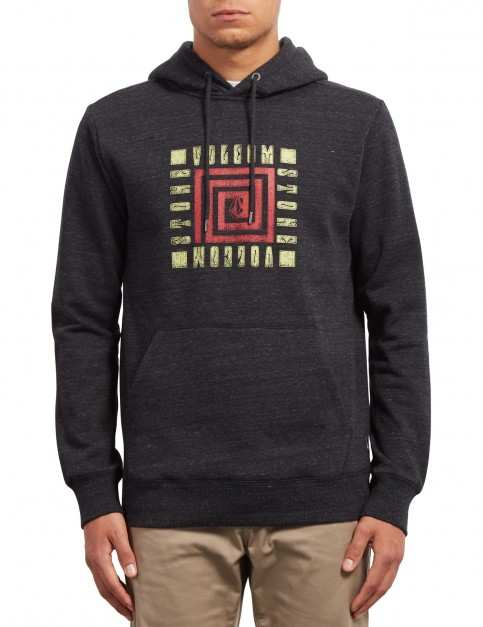 Volcom Supply Stone Pullover Hoody in Sulfur Black