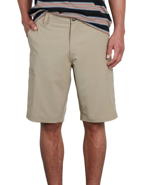 Volcom Surf N' Turf Cargo Shorts in Khaki