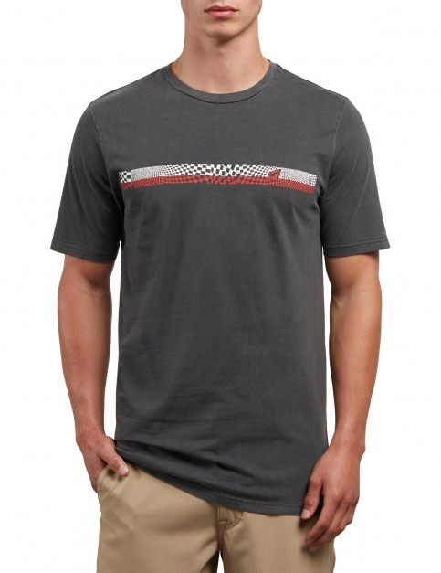 Volcom System Manic Short Sleeve T-Shirt in Black