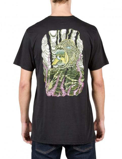 Volcom Tetsunori Short Sleeve T-Shirt in Black