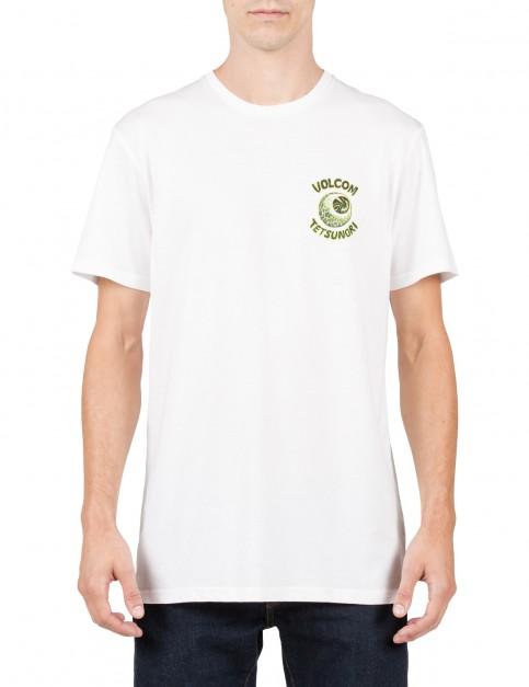 Volcom Tetsunori Short Sleeve T-Shirt in White