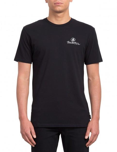 Volcom The Garden Kerr Fa T Short Sleeve T-Shirt in Black