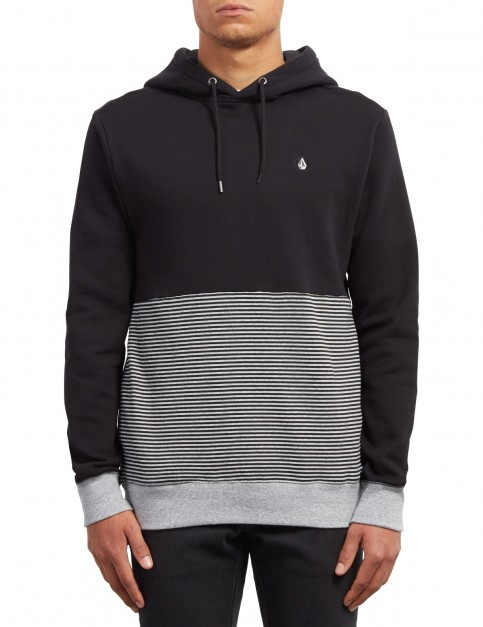 Volcom Threezy Pullover Hoody in Black