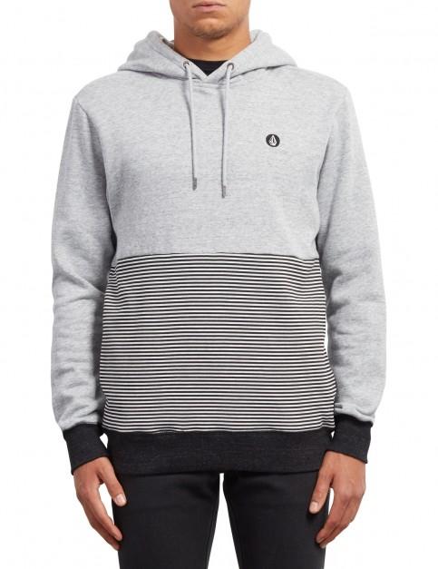 Volcom Threezy Pullover Hoody in Grey