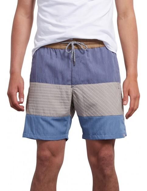 Volcom Threezy Shorts in Deep Blue