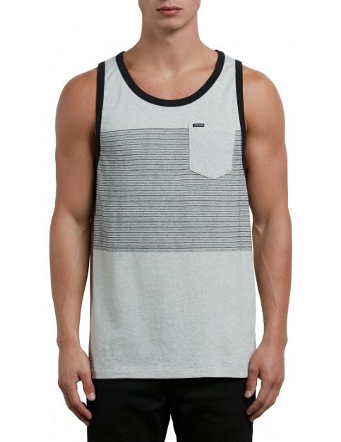Volcom Threezy Tank Sleeveless T-Shirt in Mist