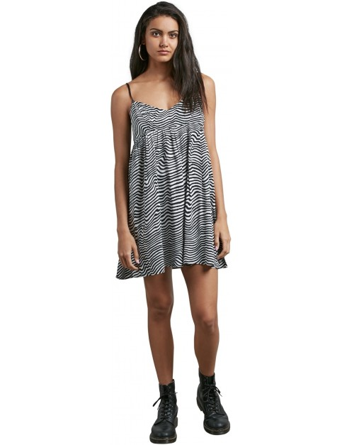 Volcom Thx Its A New Dress in Black White