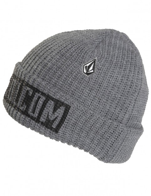 Heather Grey Volcom Trenches Beanie