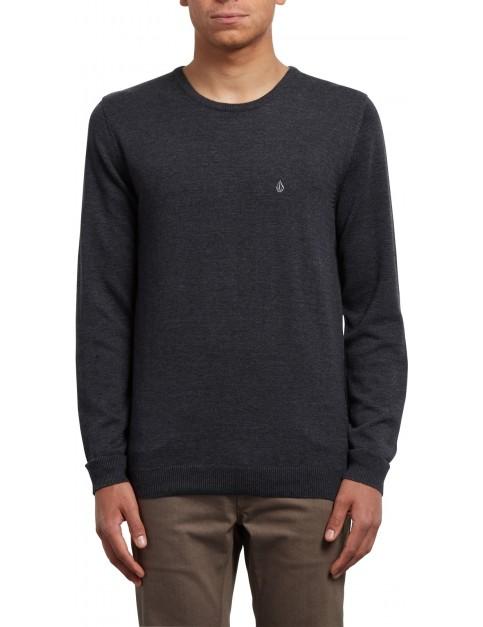 Volcom Uperstand Crew Sweatshirt in Black