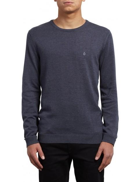 Volcom Uperstand Crew Sweatshirt in Navy