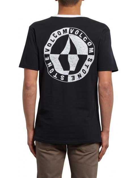 Volcom Vert Short Sleeve T-Shirt in Black