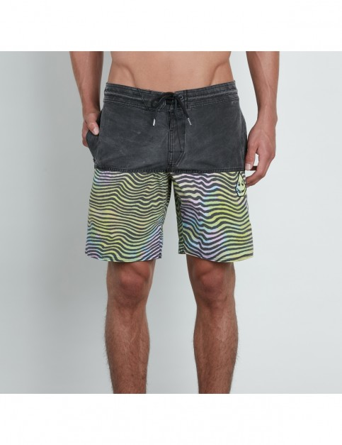 Volcom Vibes Half Stoney 18 Mid Length Boardshorts in Multi