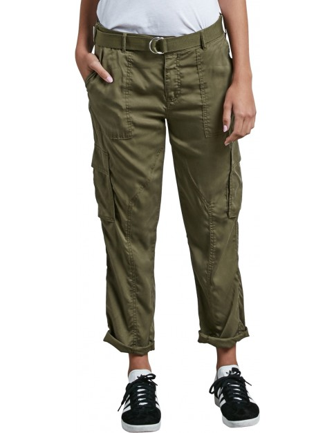 Volcom Vol Plus Chino Trousers in Dark Camo