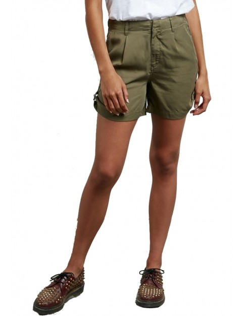 Volcom VOL Plus Shorts in Dark Camo