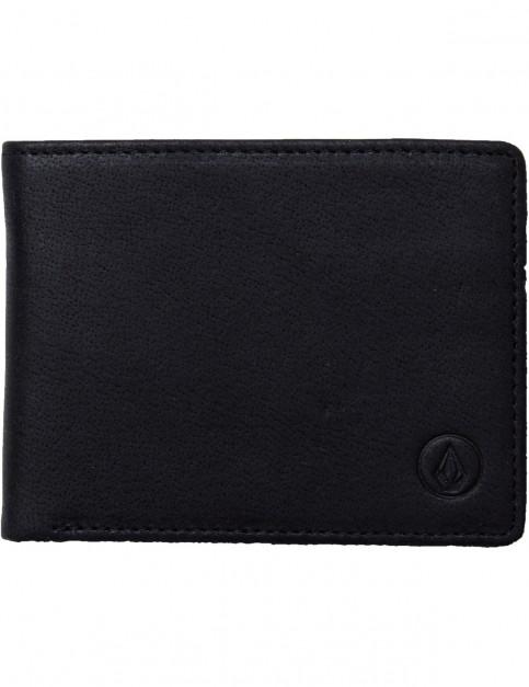 Volcom Volcom Leather Wallet in Black