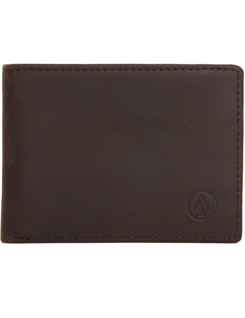 Volcom Volcom Leather Wallet in Brown