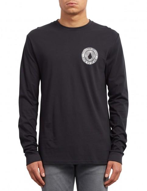 Volcom Volcomsphere Long Sleeve T-Shirt in Black