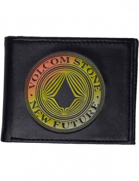 Volcom Volcomsphere Polyester Wallet in Black