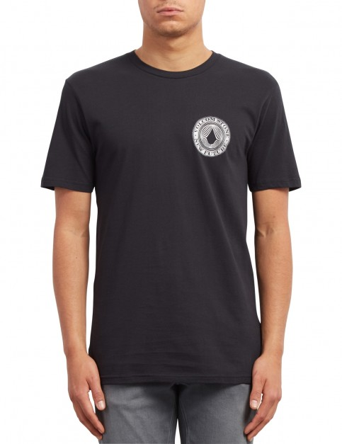 Volcom Volcomsphere Short Sleeve T-Shirt in Black