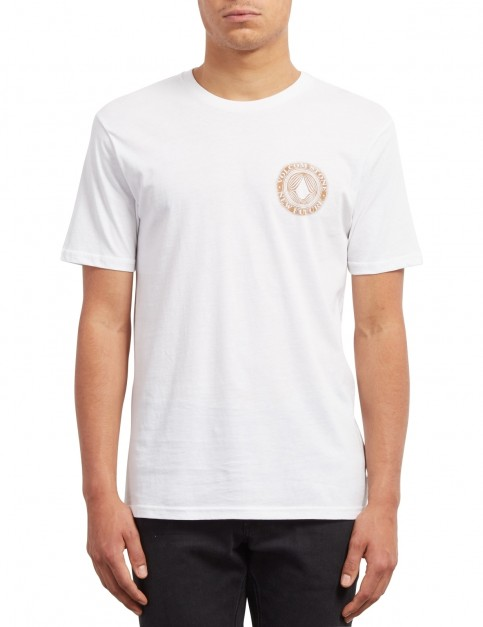Volcom Volcomsphere Short Sleeve T-Shirt in White