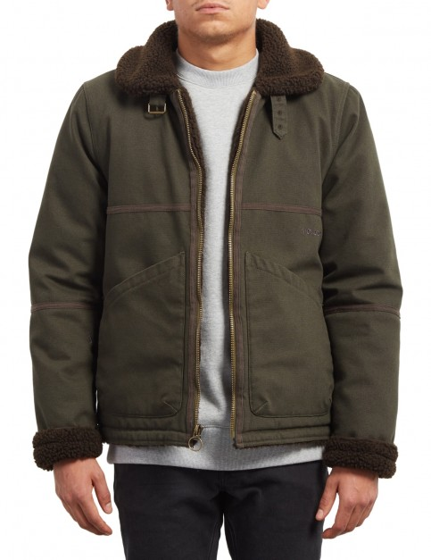 Volcom Volfly Jacket in Military