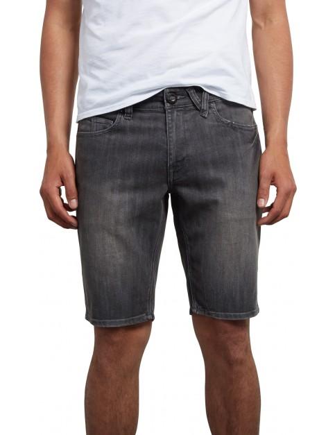 Volcom Vorta Denim Denim Shorts in Vertiver Grey
