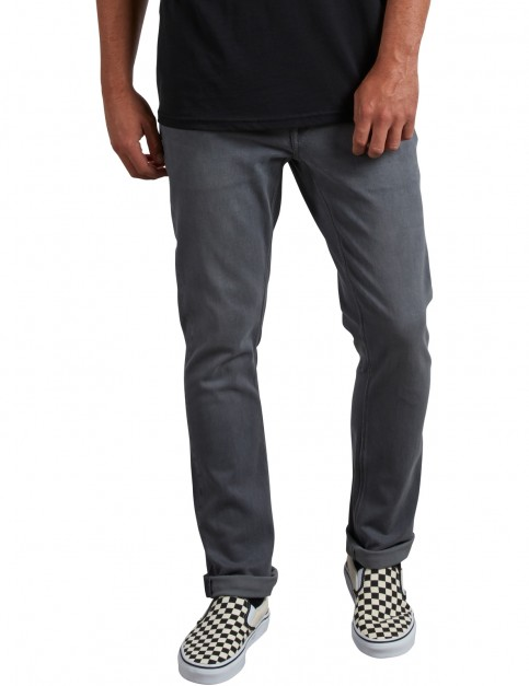 Volcom Vorta Denim Slim Fit Jeans in Grey Vintage