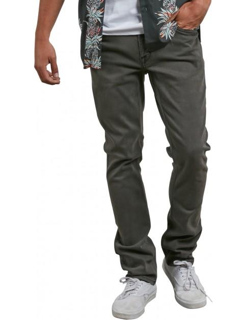 Volcom Vorta Denim Slim Fit Jeans in Lead
