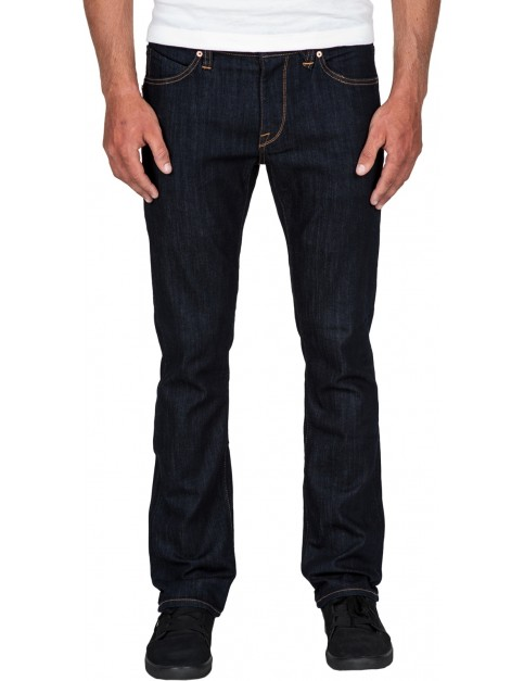 Volcom Vorta Denim Slim Fit Jeans in Rinse
