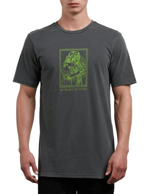 Volcom Watcher Short Sleeve T-Shirt in Black
