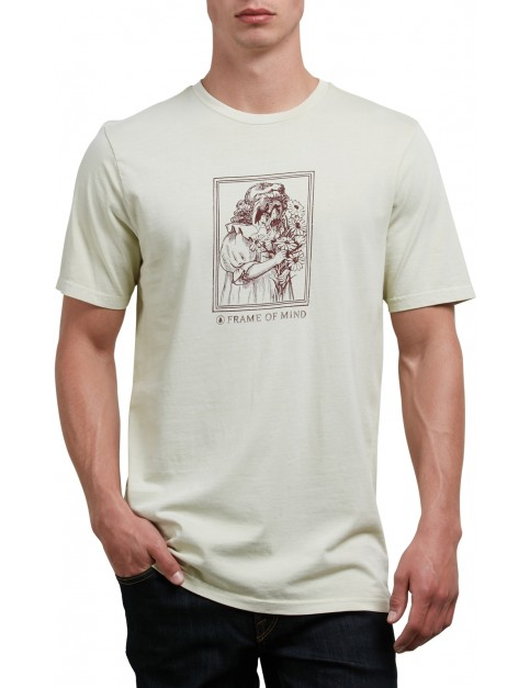 Volcom Watcher Short Sleeve T-Shirt in Clay