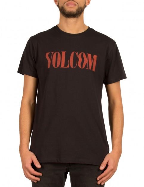 Volcom Weave Short Sleeve T-Shirt in Black