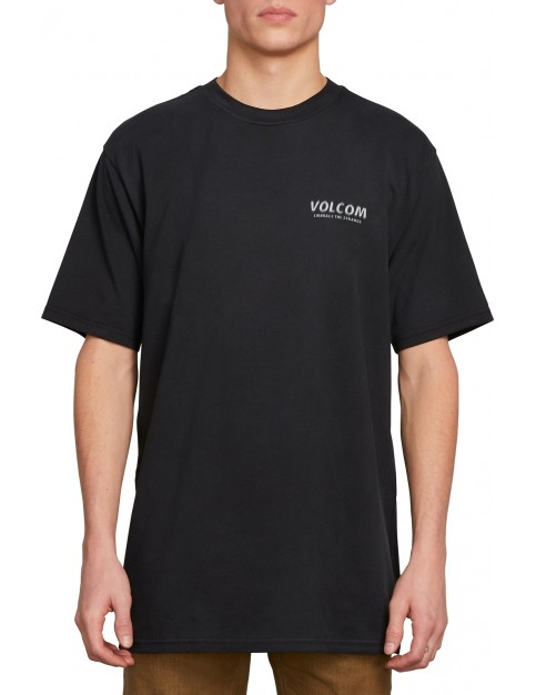Volcom Wheat Paste Short Sleeve T-Shirt in Black