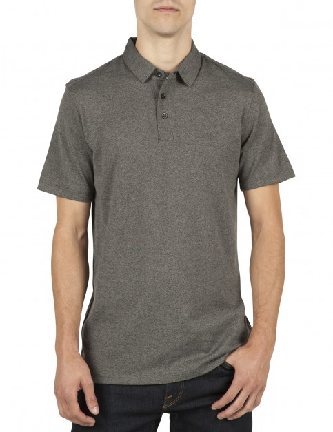 Volcom Wowzer Polo Shirt in Stealth