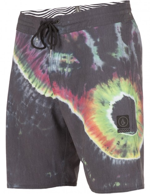 Volcom Yin Yang Mid Length Boardshorts in Multi