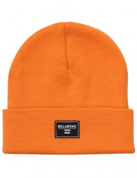 be2cc53bbba Billabong Disaster Beanie in Tangerine