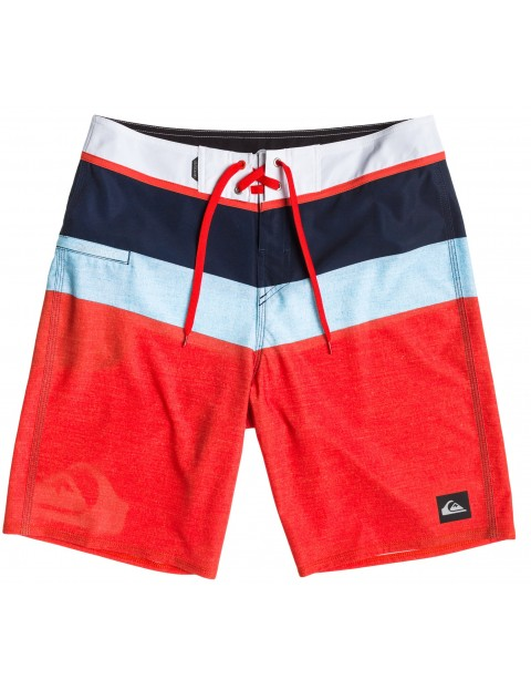 c011ced4b8 Quiksilver Sunset Future 20 Mid Length Board Shorts in Mandarin Red |  surfstreetshop.com