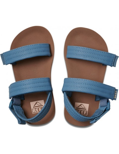 cca1d7070cfb Reef Little Ahi Convertible Sandals in Tan Navy