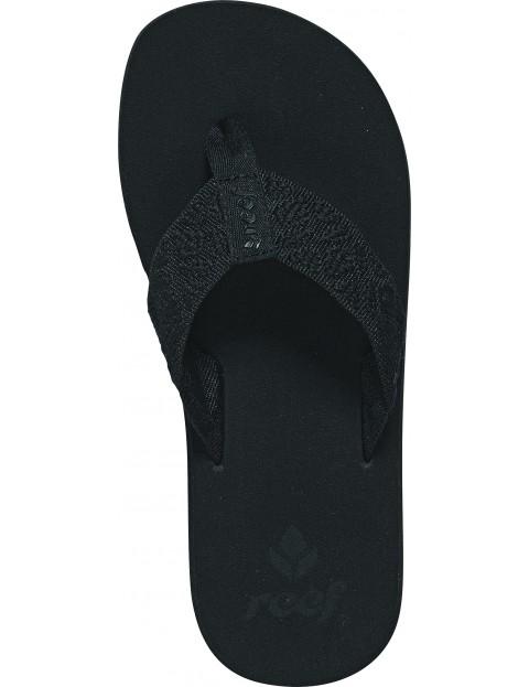 1ac2799df128 Reef Sandy Flip Flops in Black Black