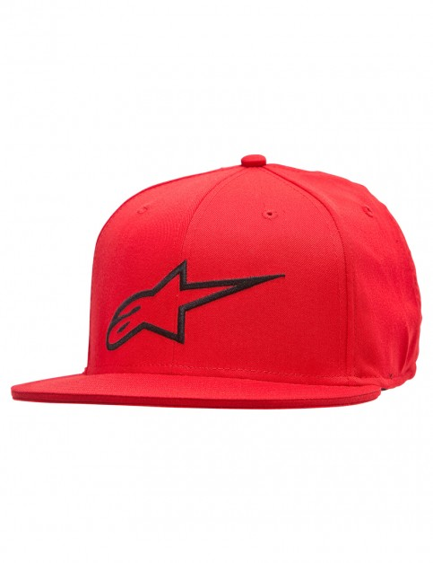 Alpinestars Ageless Flat Cap in Red