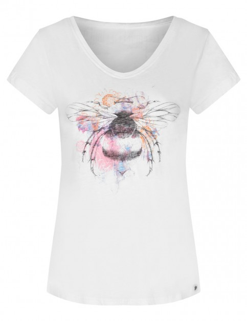 Animal Bright Nature Short Sleeve T-Shirt in White