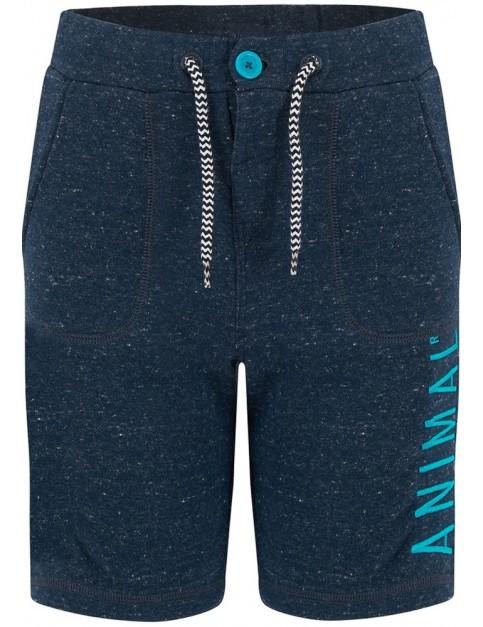 Animal Cove Shorts in Dark Navy Marl