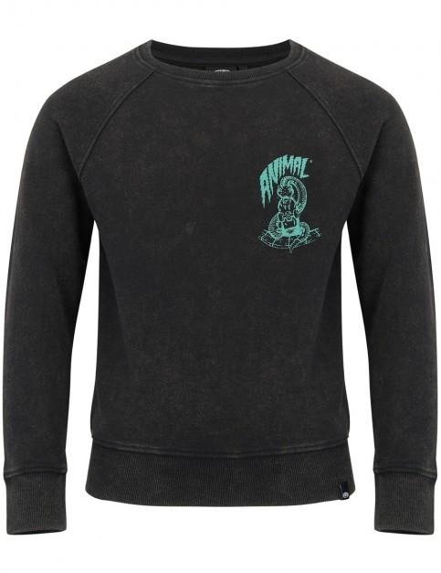 Animal Edlyn Long Sleeve T-Shirt in Black