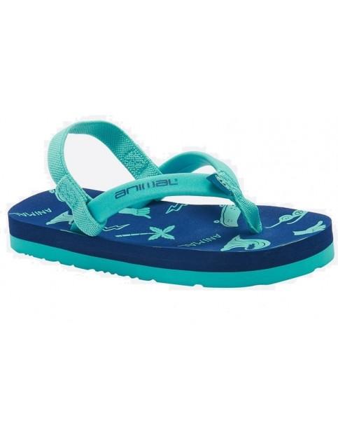 36a5b6fcc Animal Goofey Flip Flops in Nautical Blue