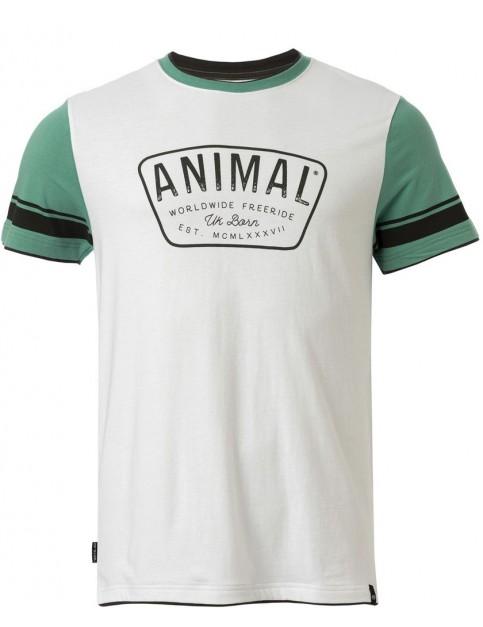 Animal Hoops Short Sleeve T-Shirt in Beryl Green
