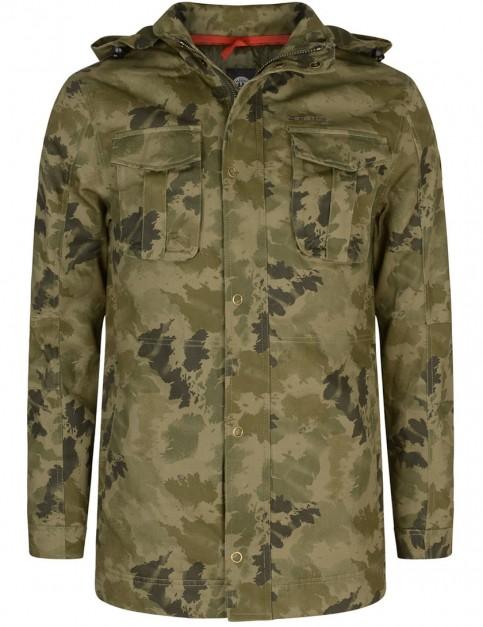 Animal Jackoo Fashion Jacket in Camo Green