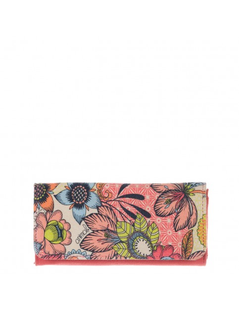 Animal Kimie Polyester Wallet in Antique Cream