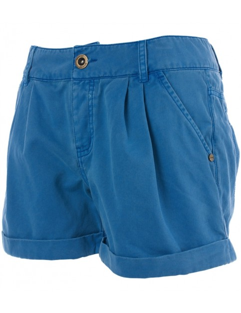 Animal Tilee Mini Fashion Shorts in Seaside Blue
