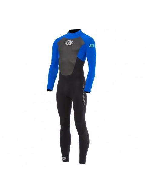 Animal Lava Gbs Back Zip Full Wetsuit in Ultra Violet Blue